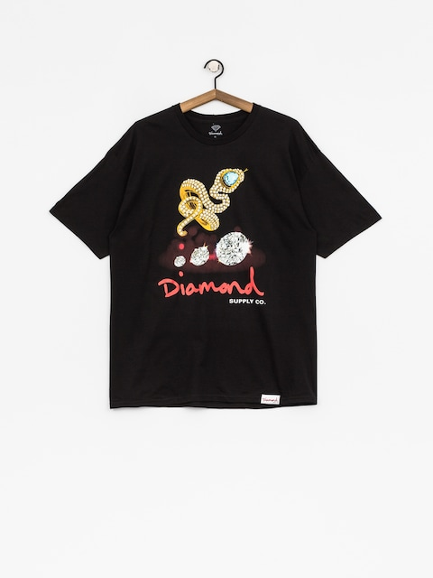 Diamond Supply Co. T-shirt Snake (black)