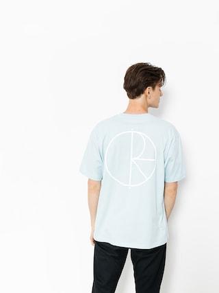 Polar Skate T-shirt Stroke Logo (light blue)