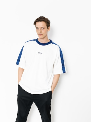 Polar Skate T-shirt Tape Surf (white/navy)