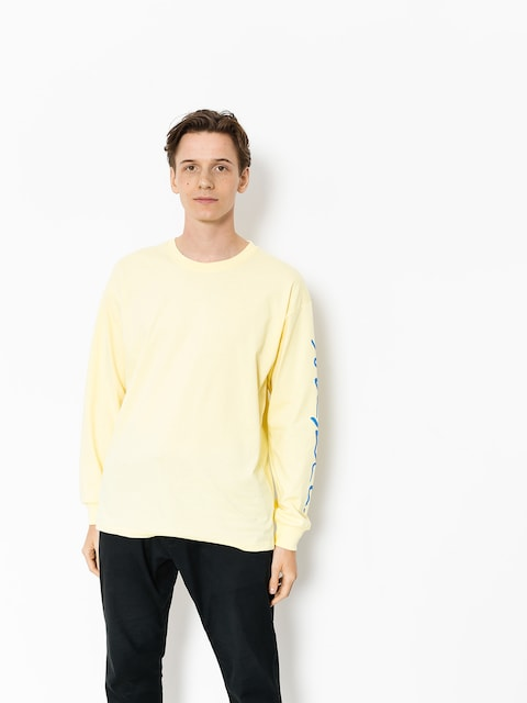 Polar Skate Longsleeve Signature (light yellow)