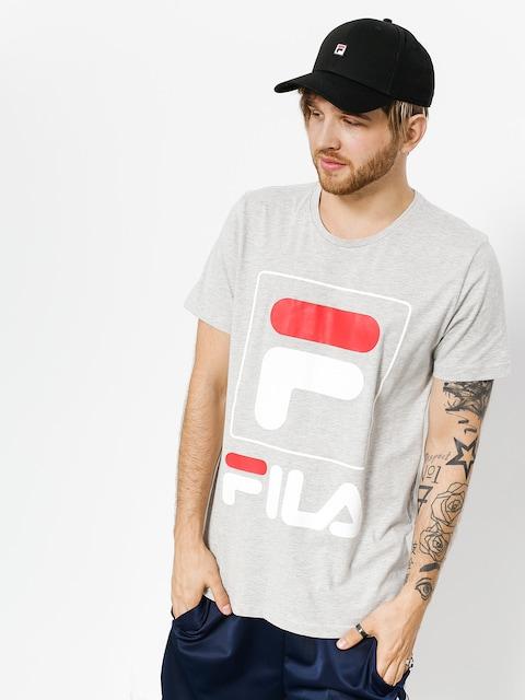 Fila T-shirt Zach (light grey melange bros)