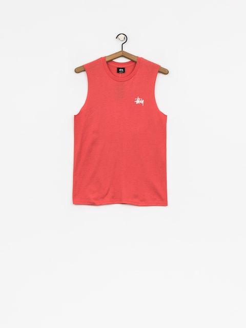 Stussy T-shirt Basic Raw Muscle Wmn (rose)