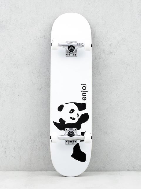 Enjoi Skateboard Whitey Panda (white)