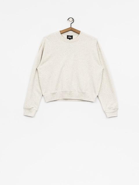 Stussy Sweatshirt Ezra Cropped Baggy Wmn