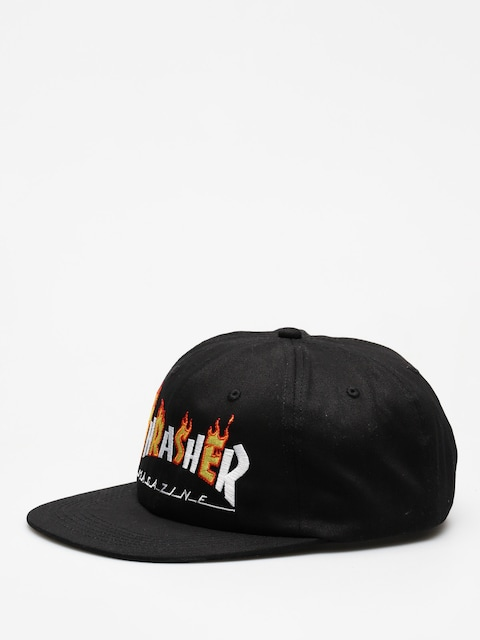 Thrasher Cap Flame Mag ZD (black)