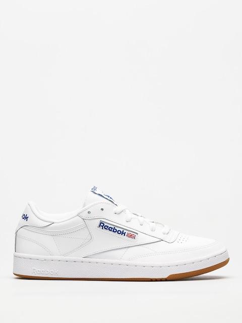 Reebok Schuhe Club C 85 (white/royal gum)