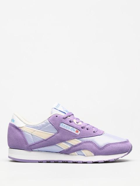 Reebok Schuhe Cl Nylon Wmn (archive frozen lilac/smoky violet/wht/ath blu)