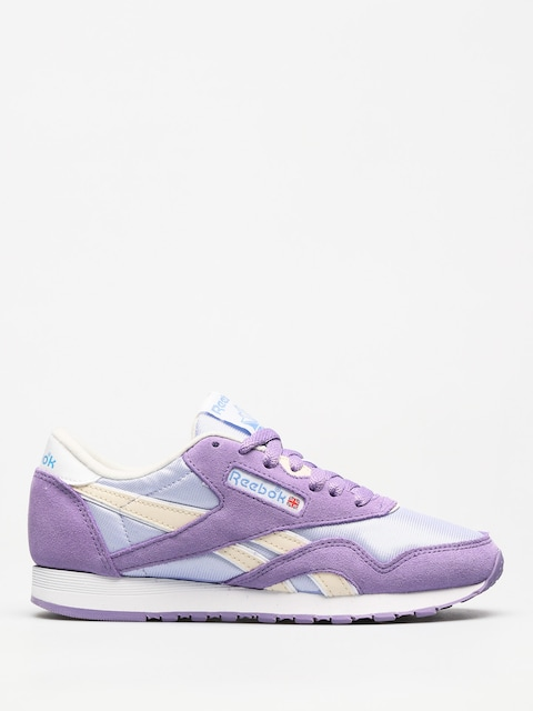 Reebok Shoes Cl Nylon Wmn (archive frozen lilac/smoky violet/wht/ath blu)