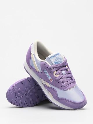 Reebok Shoes Cl Nylon Wmn (archive frozen lilac smoky violet wht ath blu) c1c8d320f
