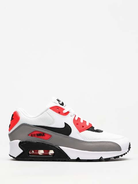 Nike Schuhe Air Max 90 Wmn (white/black dust solar red)