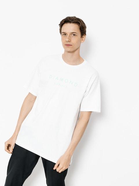 Diamond Supply Co. T-shirt Stone Cut (white)
