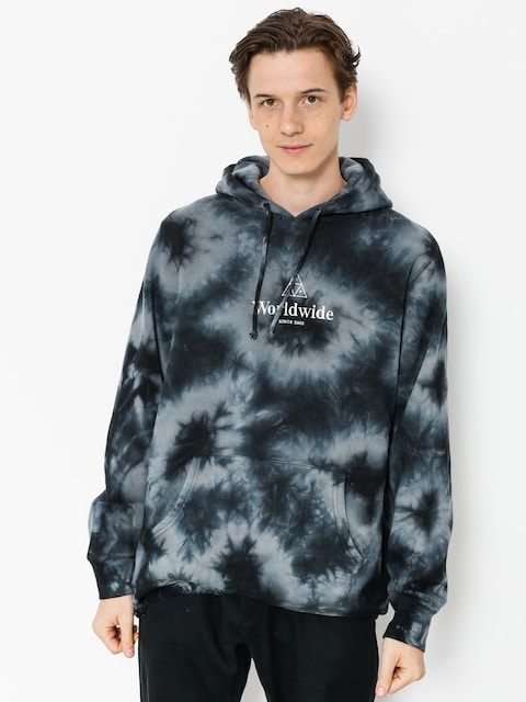 HUF Hoody Ww Tt Crystal Wash HD (black crystal wash)
