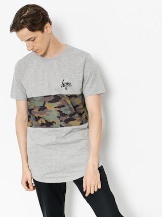 Hype T-shirt Camo Panel (grey/camo)