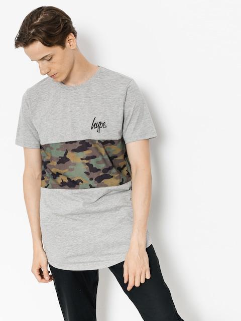 Hype T-shirt Camo Panel