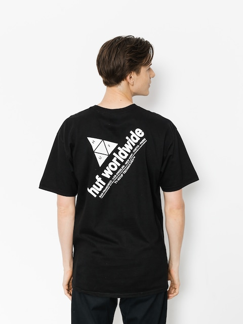 HUF T-Shirt Peak (black)