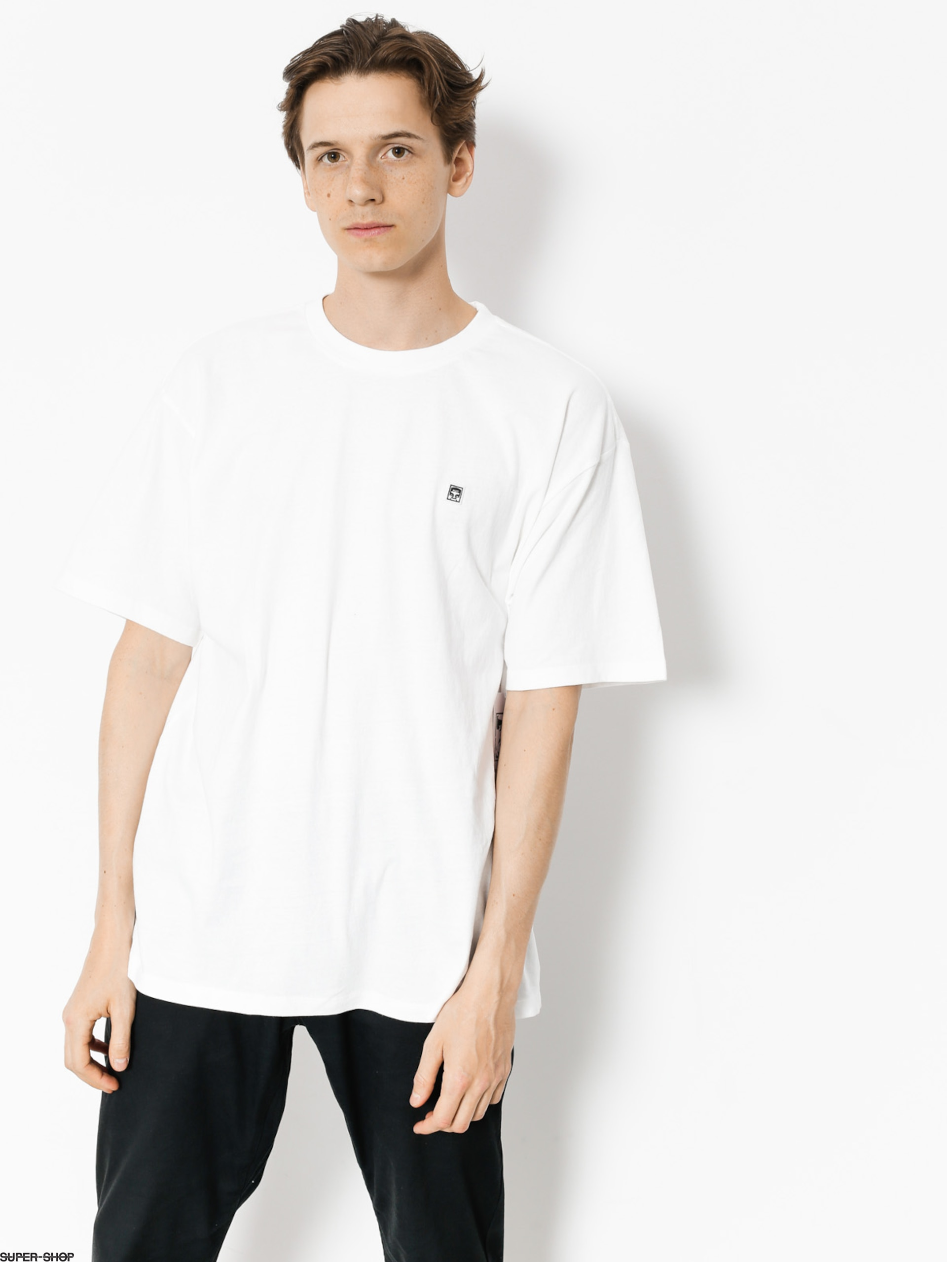 OBEY T-Shirt Eighty Nine Solid Box (wht)