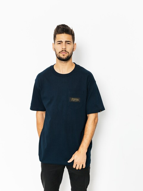 Emerica T-Shirt Mfg Co Pckt (navy)