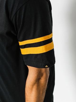 Emerica T-Shirt Harsh Baseball V (black)