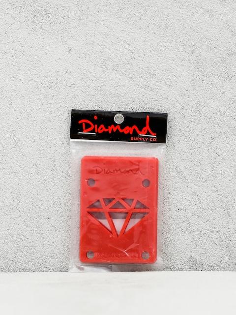 Diamond Supply Co. Shockpads Rise & Shine Risers (red)