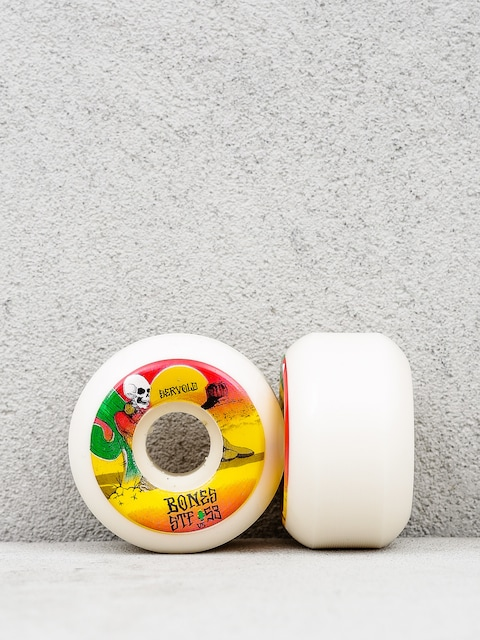 Bones Wheels Servold Dry Heat Formula V5 (white/multicolor)