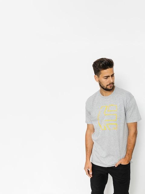 Etnies T-Shirt Sketch Outline (grey/heather)