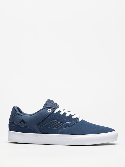 Emerica Shoes The Reynolds Low Vulc (blue/white/gum)