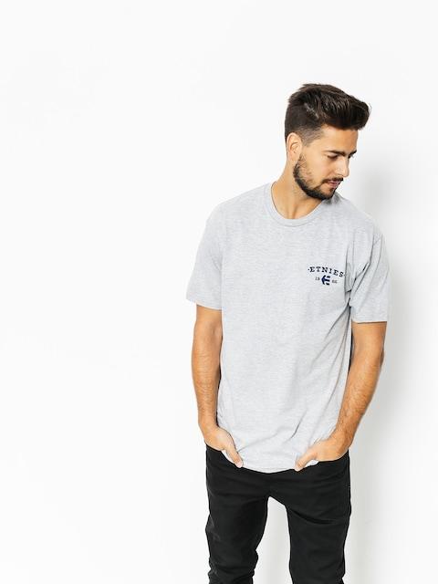 Etnies T-Shirt Built (grey/heather)