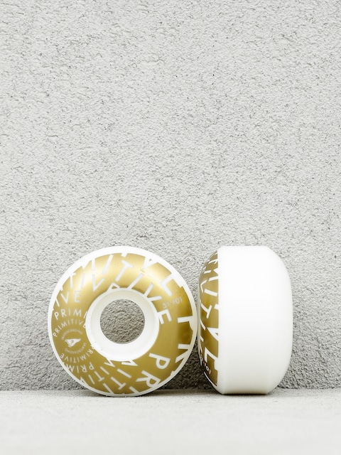 Primitive Wheels Pennant Vortex Team (white/gold)