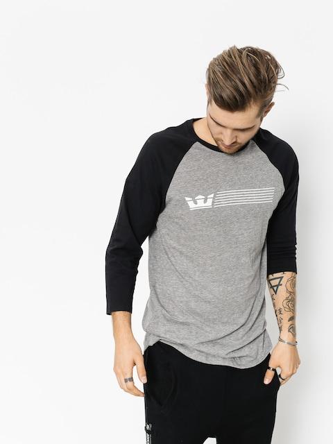 Supra T-Shirt Crwn Strp Prm 3/4 Cw