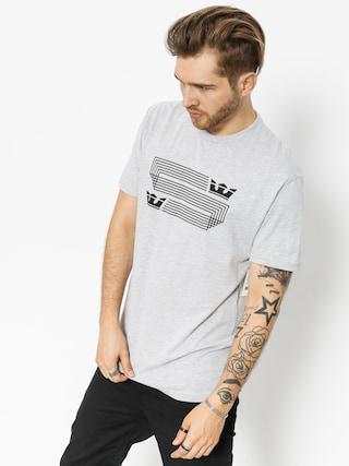 Supra T-shirt Linked Crown Reg (grey heather)