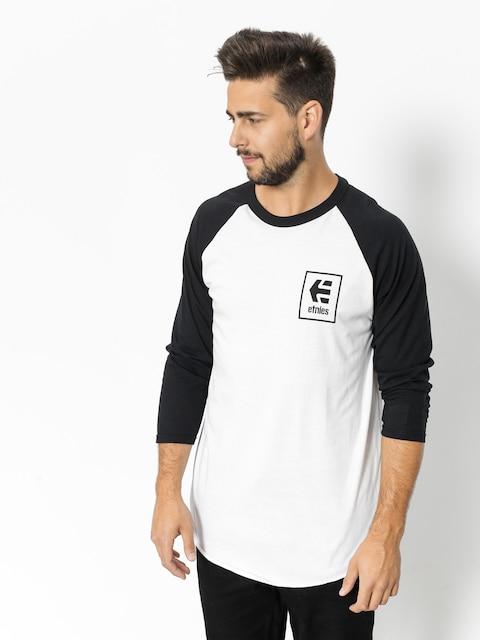 Etnies T-shirt Stack Box Raglan (black/white)