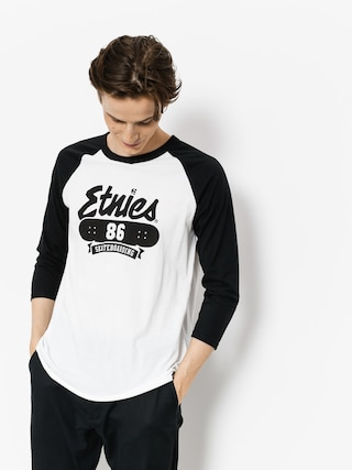 Etnies T-shirt 86 Triblend Raglan (white/black)