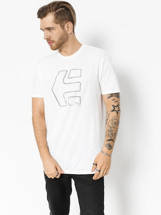 Etnies T-shirt Sketch Outline (white)