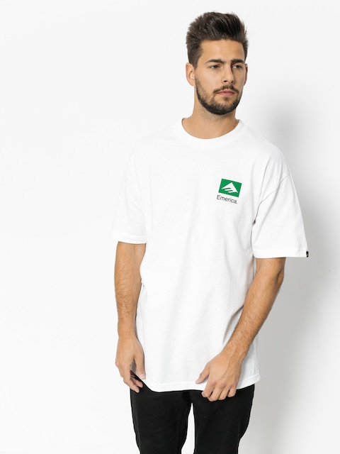 Emerica T-shirt Brand Combo (white)