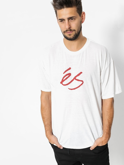 Es T-shirt Mid Script Tech (white)