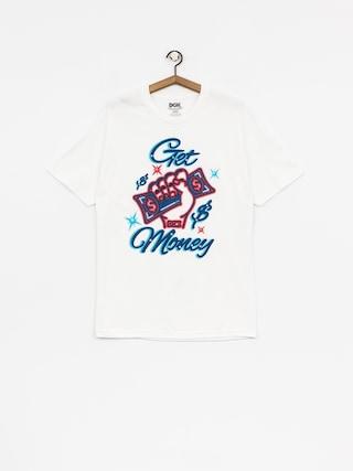 DGK T-shirt Get Money (white)