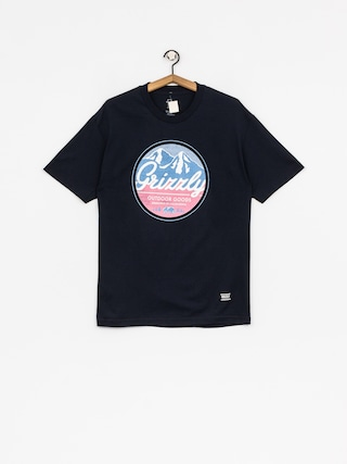 Grizzly Griptape T-shirt Frosted Peaks (navy)