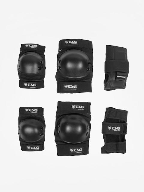 TSG Protectors Junior Set (black)
