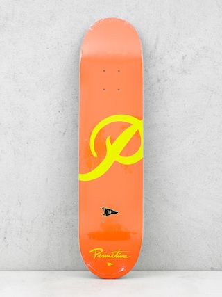 Primitive Deck Classic P Red (red/gold)