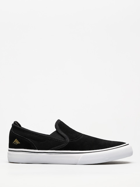 Emerica Shoes Wino G6 Slip On (black/white/gold)