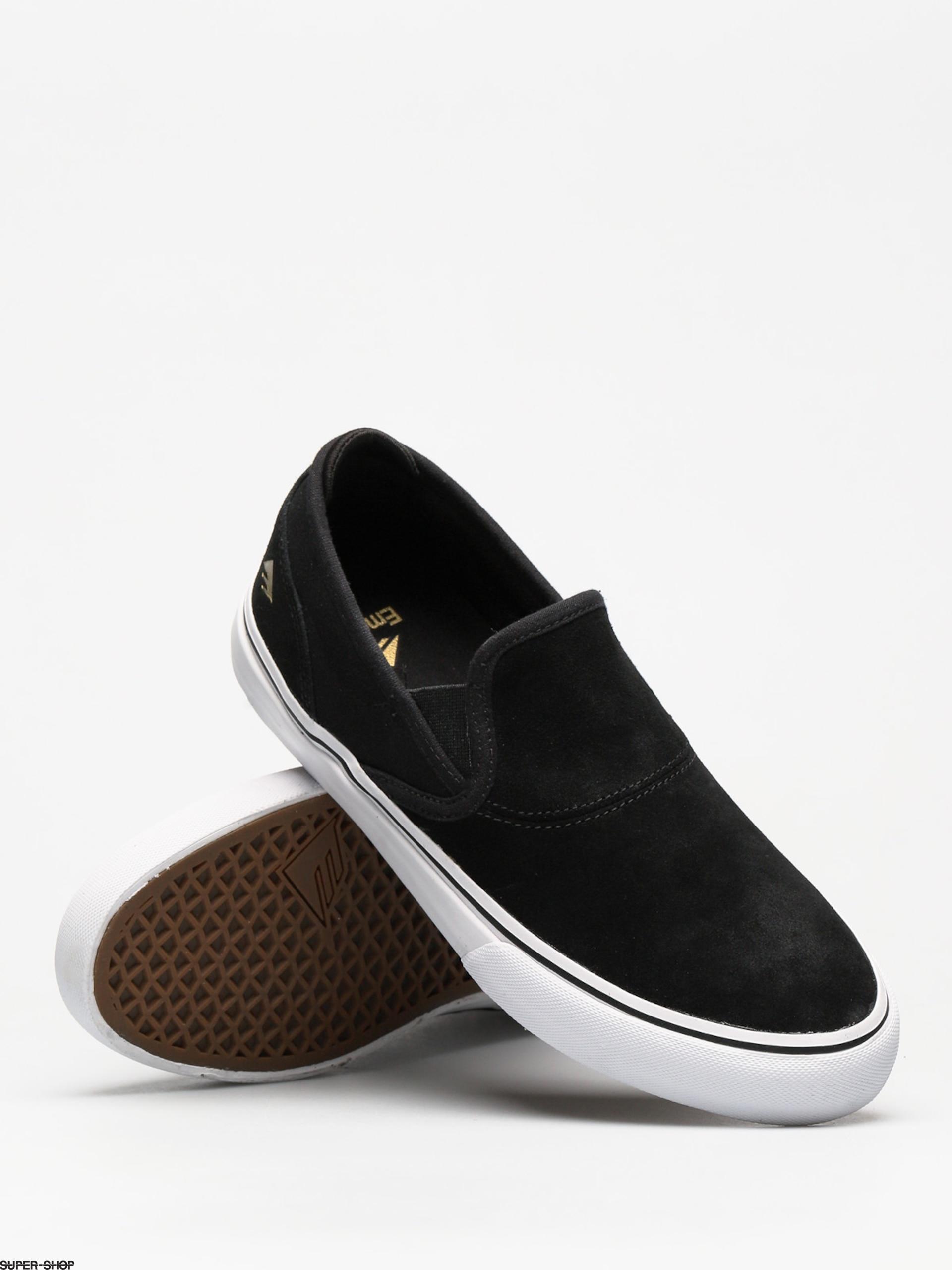 Emerica Shoes Wino G6 Slip On (black