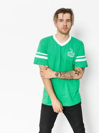 Emerica T-Shirt Harsh Baseball V (green)