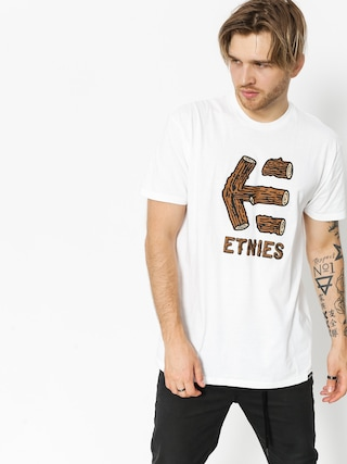 Etnies T-shirt Wood Stack (white)