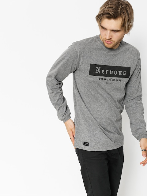 Nervous Longsleeve Ghotic Box (grey)