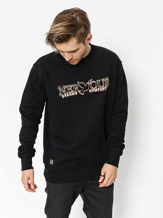Nervous Sweatshirt Classic (blur black)