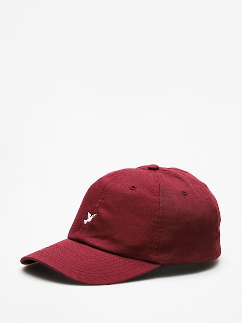 Nervous Cap Dad Icon ZD (maroon)