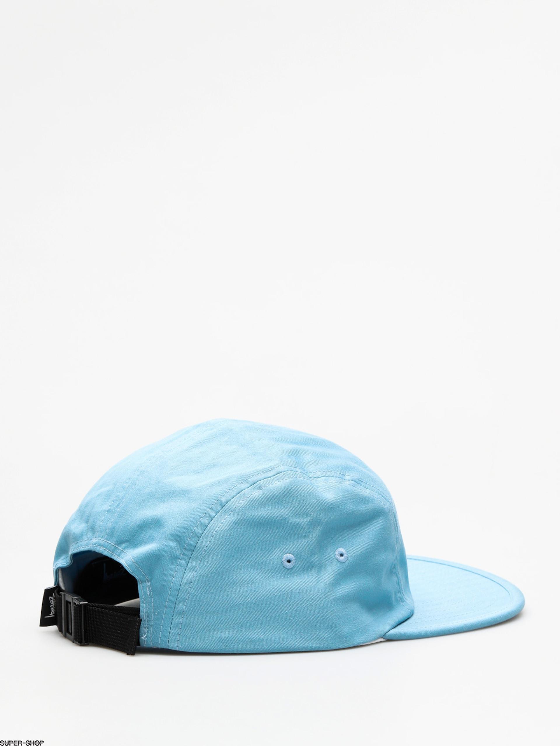 371703f72f978 Stussy Cap Stock Herringbone Camp ZD (blue)
