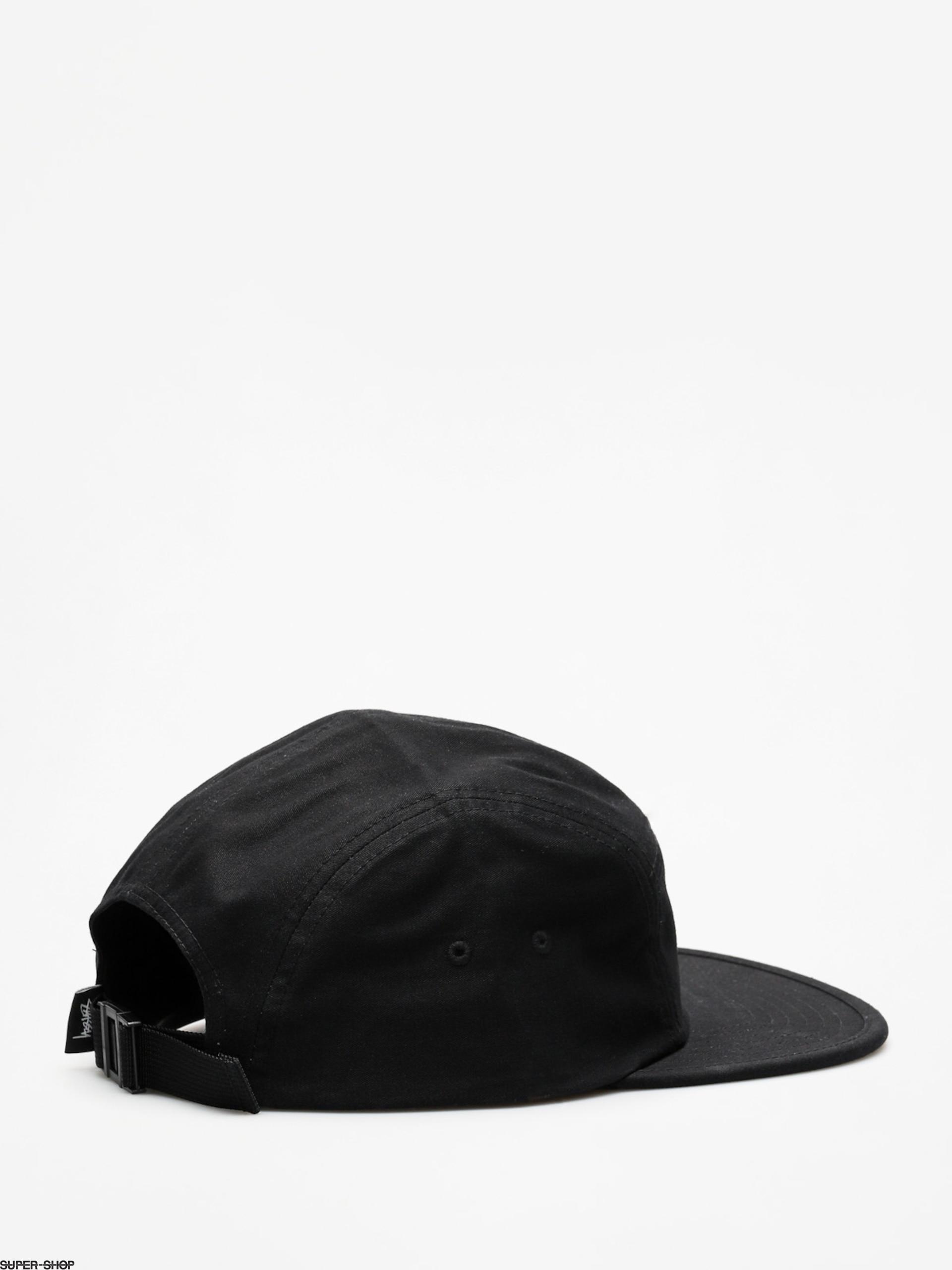 24e573b8da0 Stussy Cap Stock Herringbone Camp ZD (black)