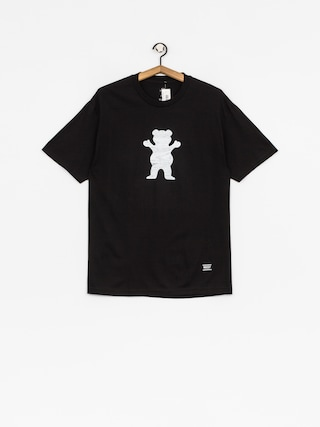Grizzly Griptape T-shirt Woodland Og Bear (black)