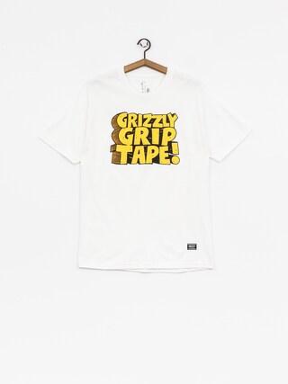 Grizzly Griptape T-Shirt Nostalgic (white)
